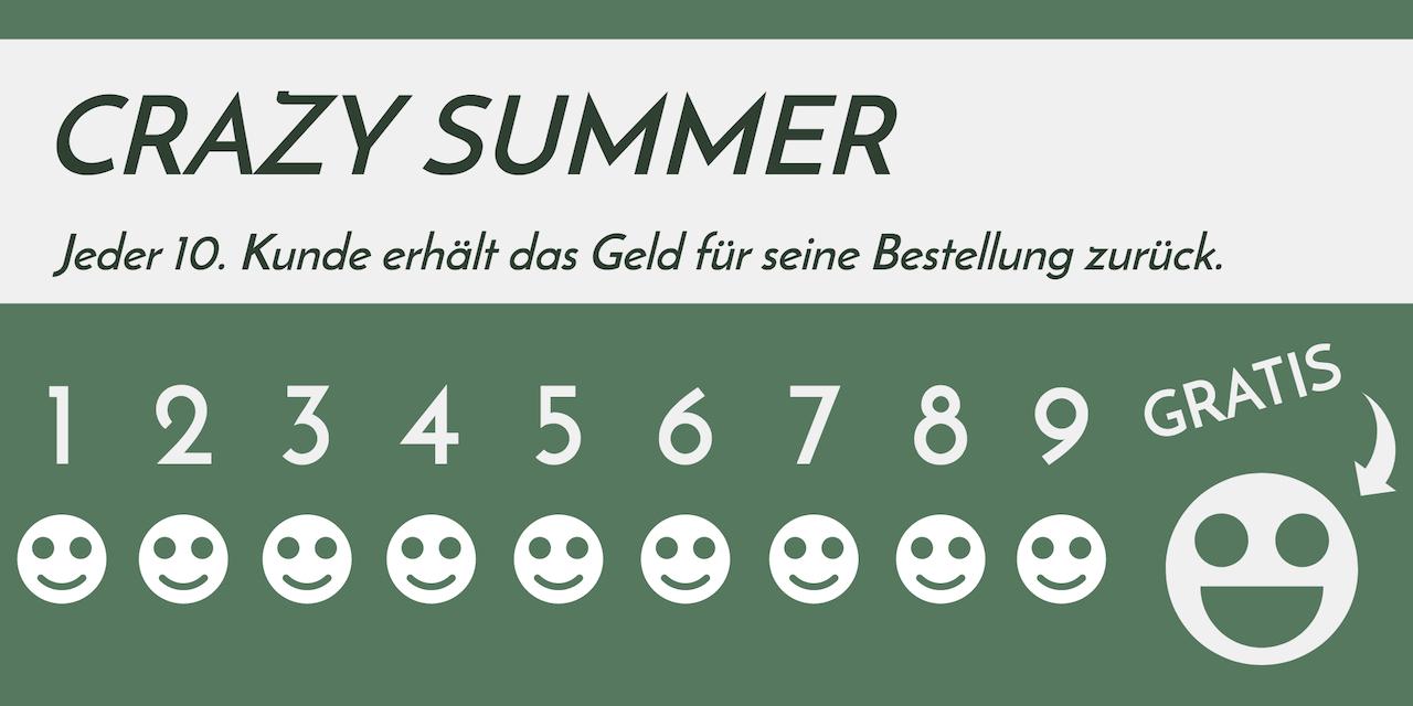 Der Holzkern Crazy Sommer
