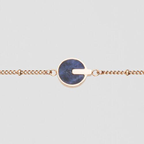 Opacity Armband (Blauer Marmor/Rosé)