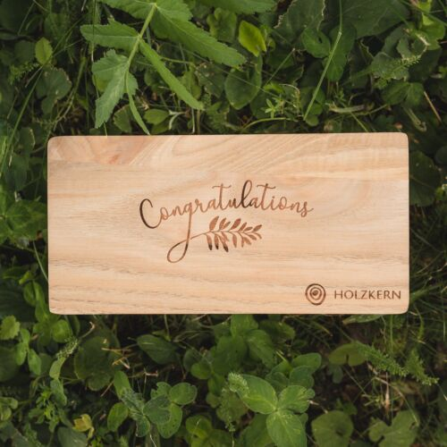 Caja doble Congratulations