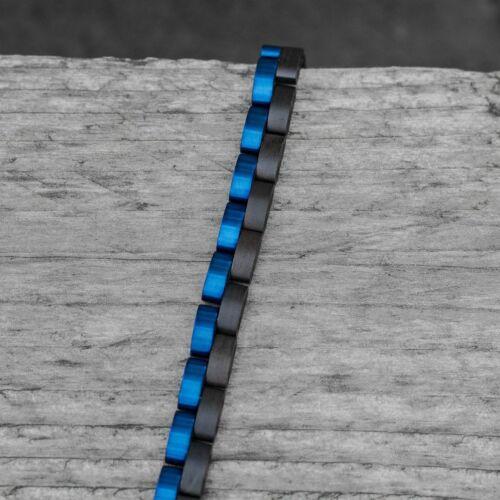 Duet (Madera de plomo/Azul)
