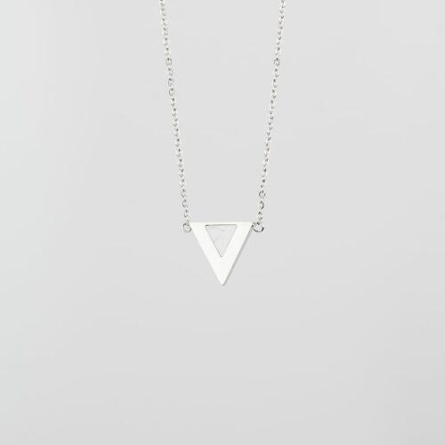 Scale Halskette (Türkis/Silber)