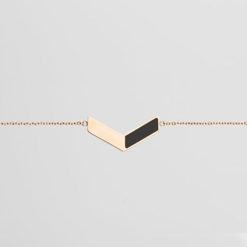 Elevation Armband (Marmor/Roségold)
