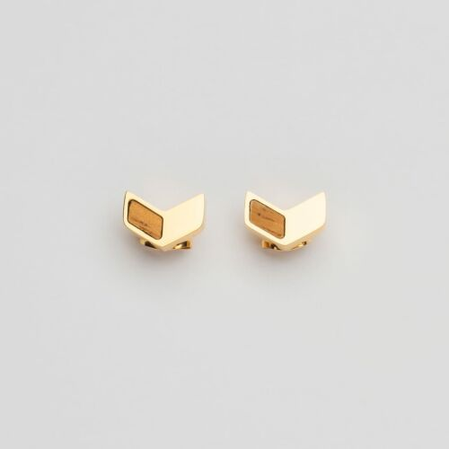 Pendientes Elevation (Zebrano/Oro)