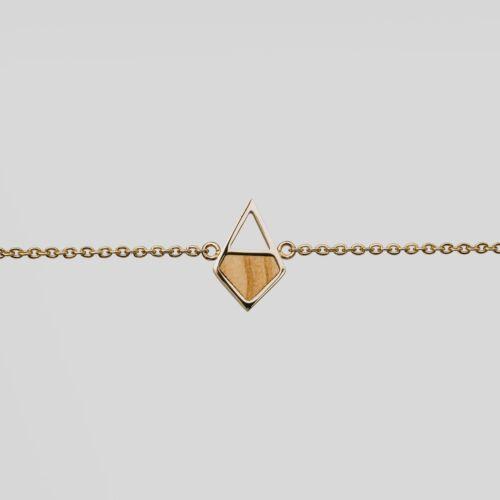 Bracelet Mandala (Olivier/Or)
