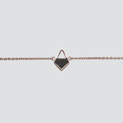 Mandala Armband (Marmor/Roségold)