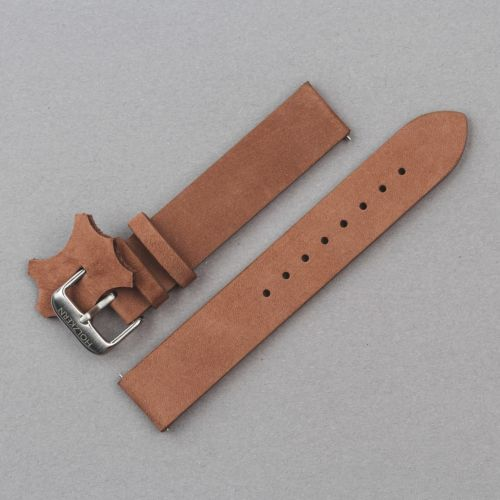 Strap Leon 18mm (Brown/Silver)