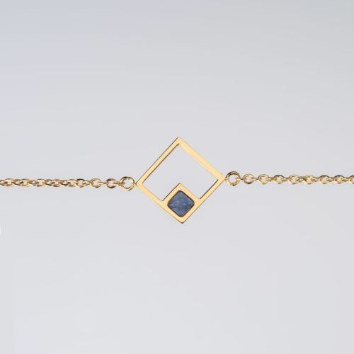 Geometric Armband (Marmor/Gold)