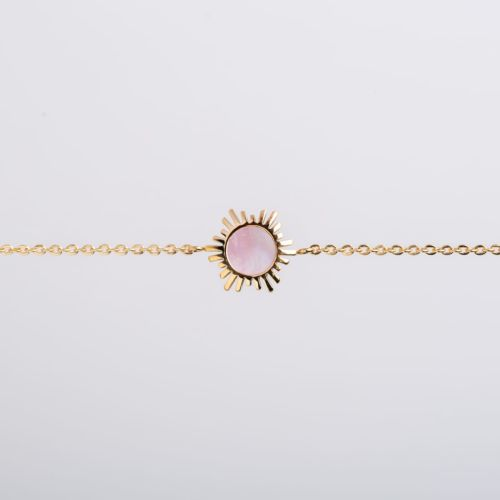 Bracelet Shade (Nacre Rose/Or)
