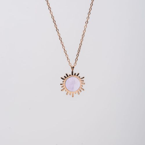 Collier Shade (Nacre Rose/Or)