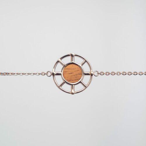 Amulett Armband (Koa/Rosé)