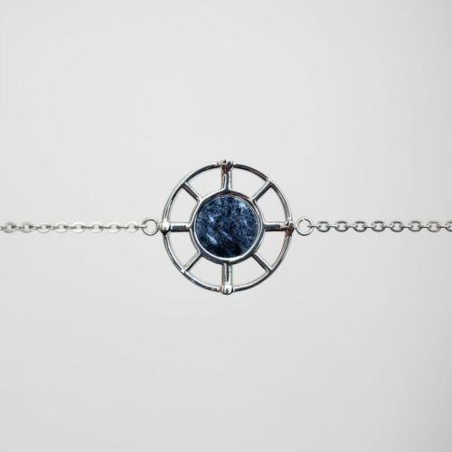 Amulett Armband (Marmor/Silber)