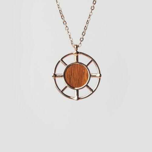 Amulett Halskette (Koa/Rosé)