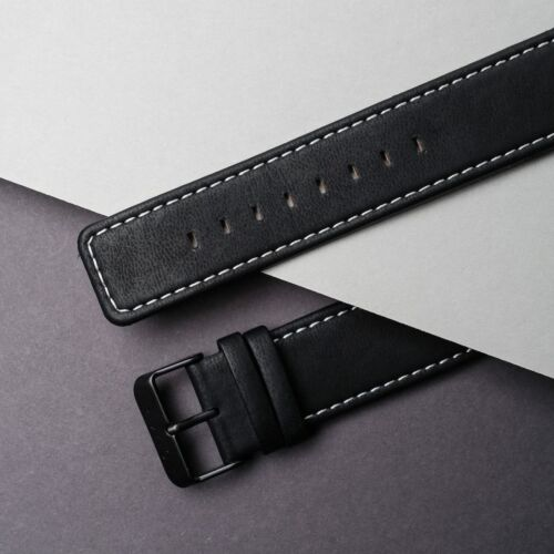 Strap Robin 22mm Vegan (Black/Black)