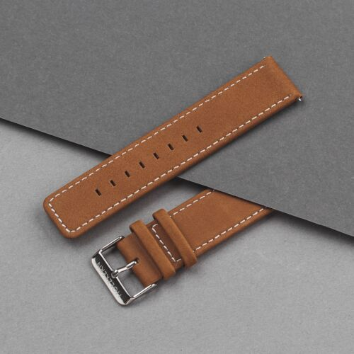 Strap Robin 22mm (Braun/Silber)