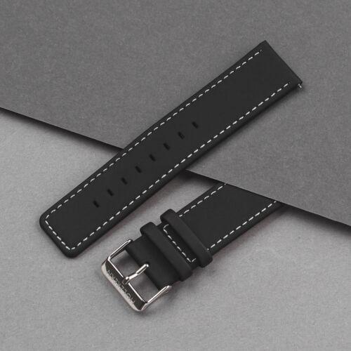 Strap Robin 22mm (Schwarz/Silber)