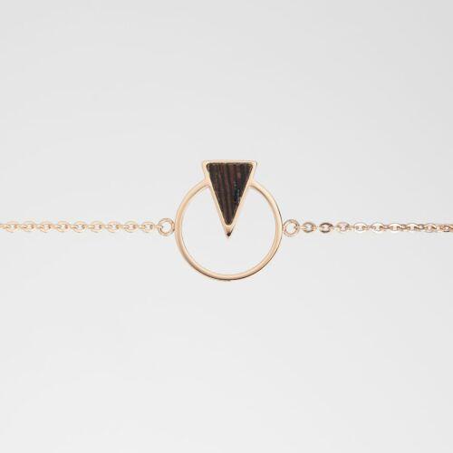 Focus Bracelet (Wenge/Rose Gold)