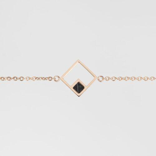 Geometric Armband (Marmor/Rosé)