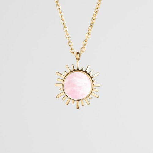 Shade Halskette (Rosa Perlmutt/Gold)
