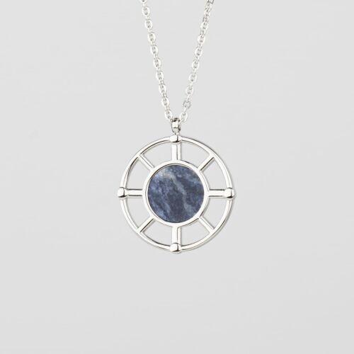 Collar Amulet (Mármol/Plata)