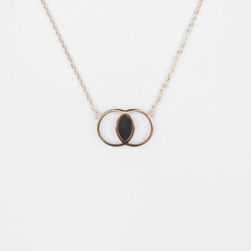 Effigy Necklace (Marble/Gold)