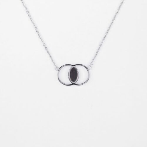 Effigy Necklace (Leadwood/Silver)