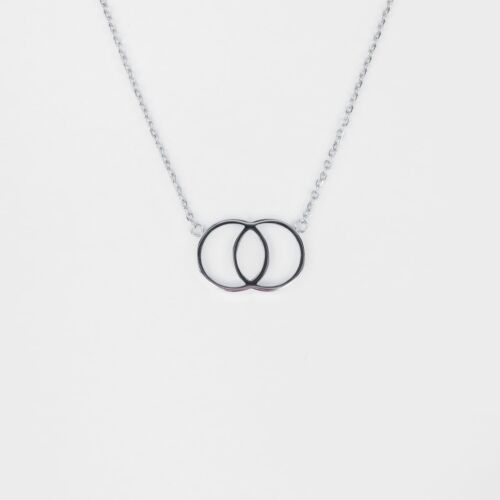 Effigy Necklace (Marble/Silver)