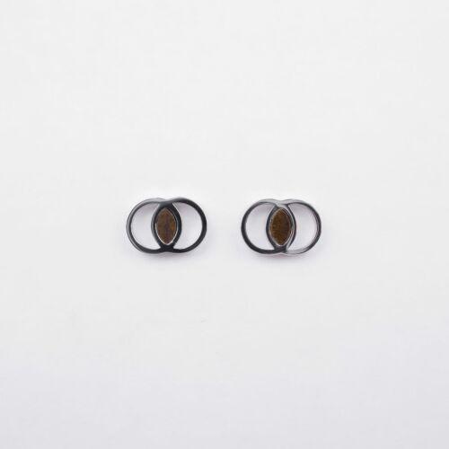 Effigies Ohrringe (Leadwood/Silber)