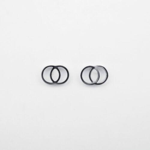 Effigies Ohrringe (Marmor/Silber)