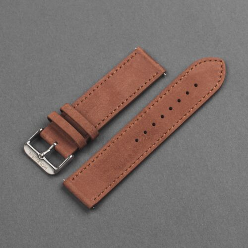 Strap Tim 22mm (Braun/Silber)