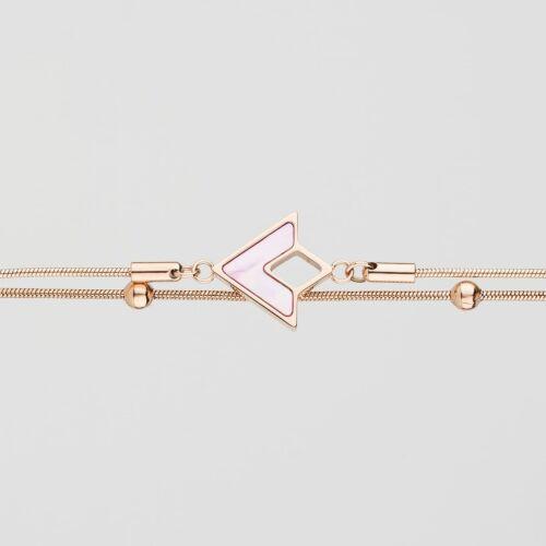 Conceptual Armband (Rosa Perlmutt/Rosé)
