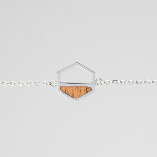 Assemblage Armband (Koa/Silber)