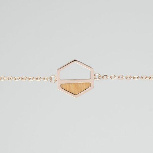 Assemblage Armband (Olive/Rosé)