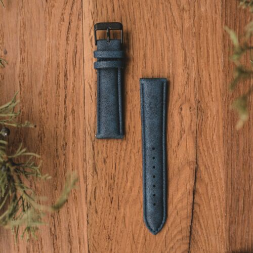Strap Max 20mm Vegan (Blue/Black)