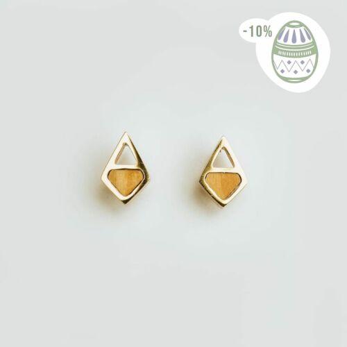 Pendientes Mandala (Olivo/Oro)