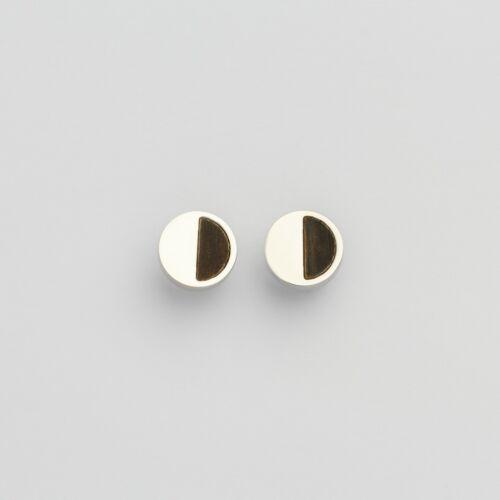 Muse Earrings (Leadwood/Silver)