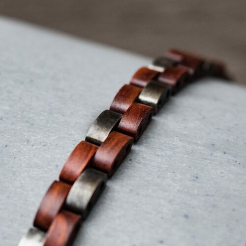 Rondo (Padauk/Antique Silver)