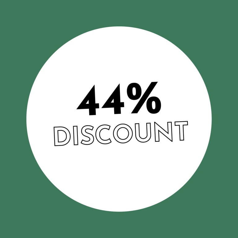 44% Discount