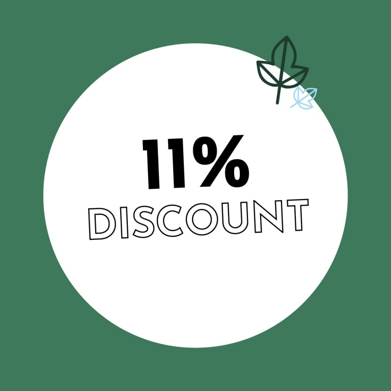 11% Discount