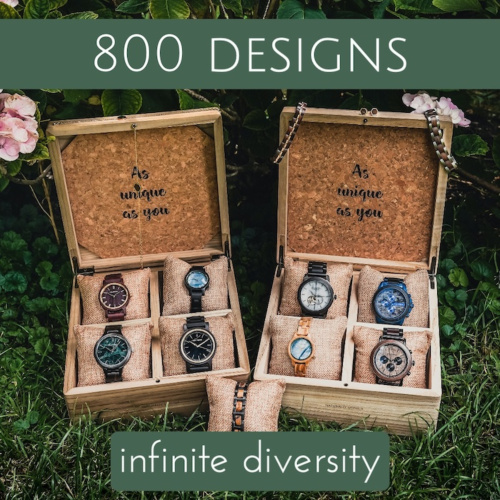 More than 800 Designs - Unlimited possibilities!