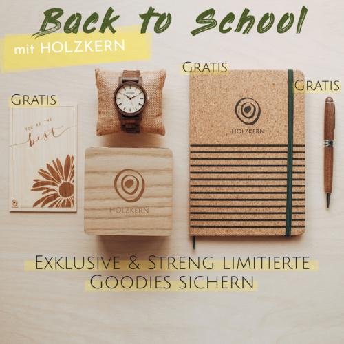 Back to School mit Holzkern - Streng limitiert & exklusiv