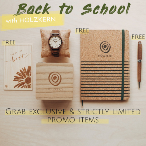 Back to School with Holzkern - Strictly limited & exclusive