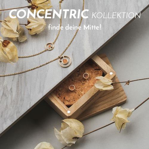 Die Concentric Schmuck-Kollektion