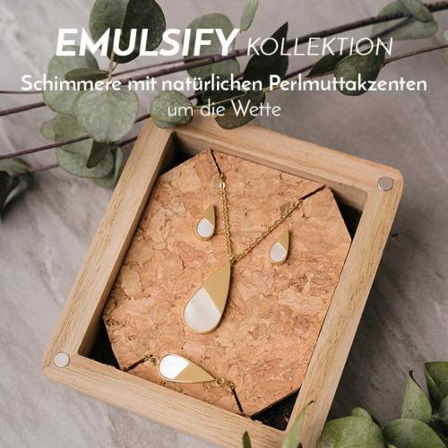 Die Emulsify Schmuck-Kollektion