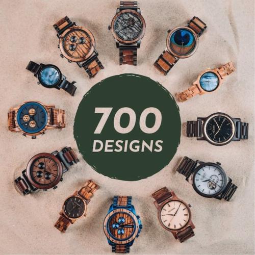 700 designs Holzkern: chaque modèle est unique en son genre