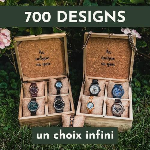 Plus de 700 designs disponibles - Possibilités infinies !