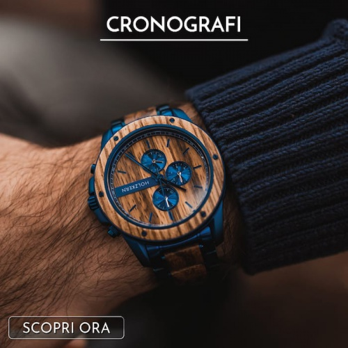8 Motivi per possedere un cronografo in legno e pietra