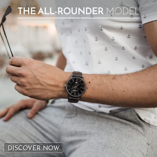 The Allrounder Watch - perfect for every occasion