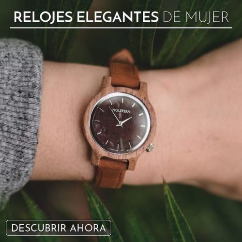 Relojes elegantes para mujer