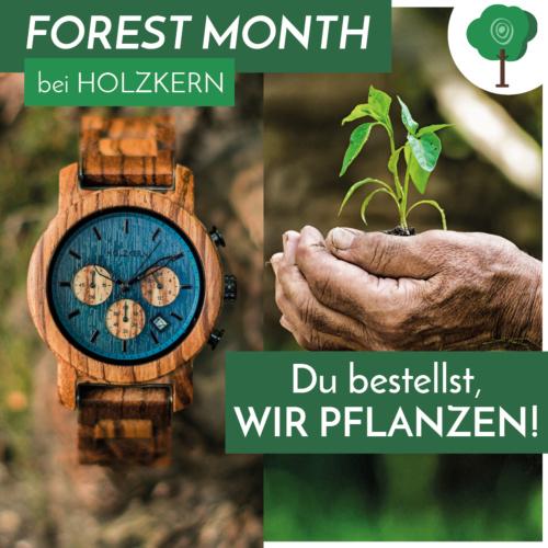 Forest Month bei Holzkern - du bestellst, wir pflanzen!