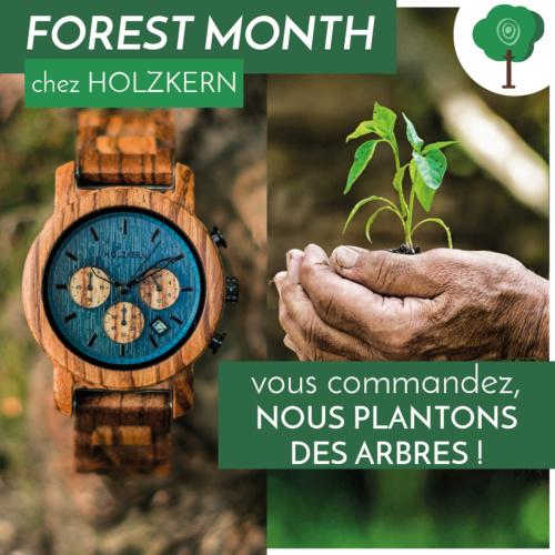 Mois de la forêt chez Holzkern - vous commandez, nous plantons des arbres !